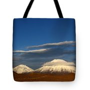 Payachatas Volcanos Chile Tote Bag