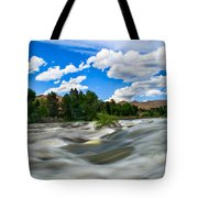 Payette River Tote Bag by Robert Bales