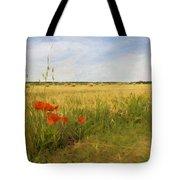 Paysage De Normandie Tote Bag