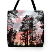 Payson Pines Sunset Tote Bag