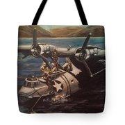 Pby 5 Loading At Pearl Harbor Tote Bag