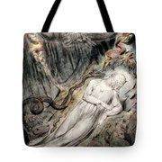Pd.20-1950 Christs Troubled Sleep Tote Bag