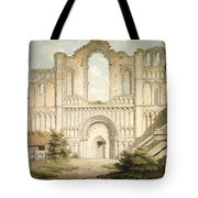 Pd.56-1958 West Front Of Castle Acre Tote Bag