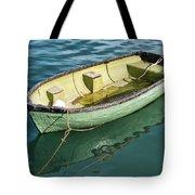Pea-green Boat Tote Bag