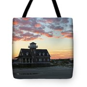 Oregon Inlet Life Saving Station 2693 Tote Bag