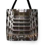 Peabody Library Baltimore Tote Bag