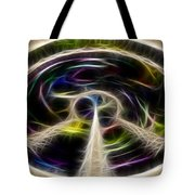 Peace And Light Tote Bag