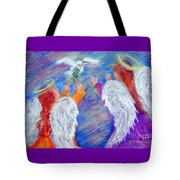 Peace Angels Tote Bag