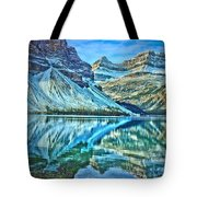 Peace At Bow Lake Tote Bag