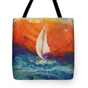 Peace Below The Surface Tote Bag