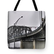 Peace Bridge 00a  Tote Bag