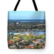 Peace Bridge Autumn 2013 Tote Bag
