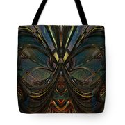 Peace Butterfly Fx Tote Bag
