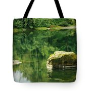Peace By The River Tote Bag