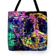 Peace Graffiti Tote Bag