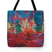 Peace In Chaos Tote Bag