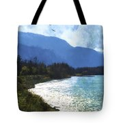 Peace In The Valley - Landscape Art Tote Bag