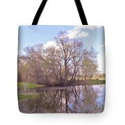 Peace In The Woods Tote Bag