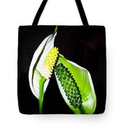 Peace Lilies Tote Bag