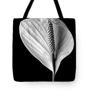 Peace Lily Iv Tote Bag