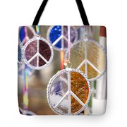 Peace Medals Tote Bag