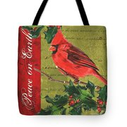 Peace On Earth 2 Tote Bag