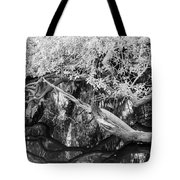 Peace On The River Tote Bag