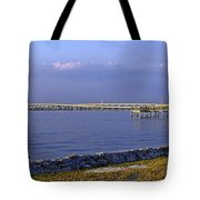Peace River Bridge Tote Bag