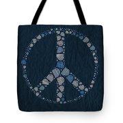 Peace Symbol Design - Bld01t01   Tote Bag