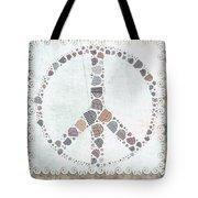 Peace Symbol Design - S76at02 Tote Bag