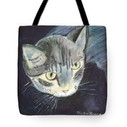 Peace The Cat Tote Bag