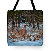 Peace Valley Park Deer Tote Bag