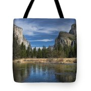 Peaceful Afternoon In Yosemite Tote Bag