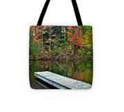 Peaceful Autumn Day Tote Bag