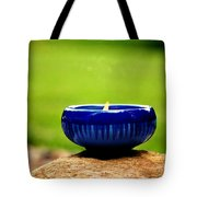 Peaceful Blue  Tote Bag