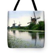 Peaceful Dutch Canal Tote Bag