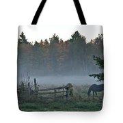 Peaceful Farm Scene Tote Bag