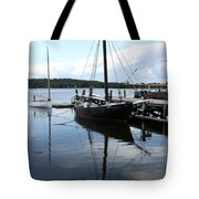 Peaceful Harbor Scene - Ct Tote Bag