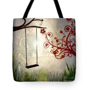 Peaceful Morning Glow Tote Bag