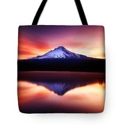 Peaceful Morning On The Lake Tote Bag by Darren  White