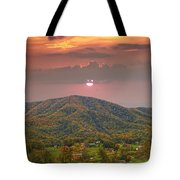 Peaceful Mountain Community Tote Bag
