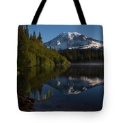 Peaceful Mountain Serenity Tote Bag
