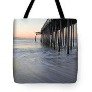 Peaceful Ocean Sunrise Tote Bag