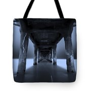 Peaceful Pacific Tote Bag
