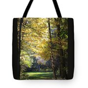 Peaceful Path Tote Bag by Kathy DesJardins