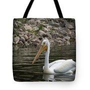 Peaceful Pelican Tote Bag