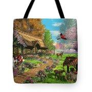Peaceful Retreat Tote Bag