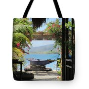 Peaceful Roatan Tote Bag