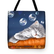 Peaceful Sleep Tote Bag