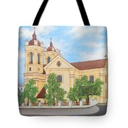 Peaceful Summer Morning Tote Bag